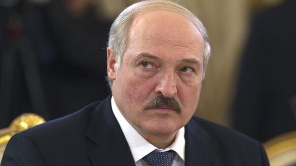Президент Белоруссии А.Лукашенко на саммите ЕврАзЭС в Москве