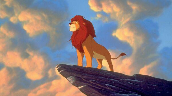Кадр из мультфильма Король Лев в 3D