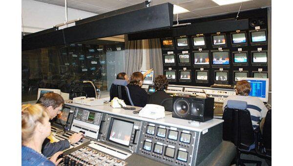 Специалисты ВГТРК осуществляют техническое обеспечение прямого эфира на телеканалах Россия и Первый канал