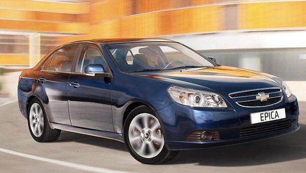 Модель автомобиля Chevrolet Epica. Архив