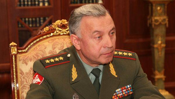 Новый начальник Генштаба ВС РФ Николай Макаров