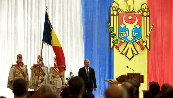 Инаугурация нового президента Молдавии Николая Тимофти