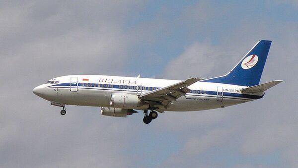 Самолет компании Белавиа. Архив