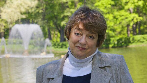 Генеральный директор музея-заповедника Петергоф Елена Кальницкая