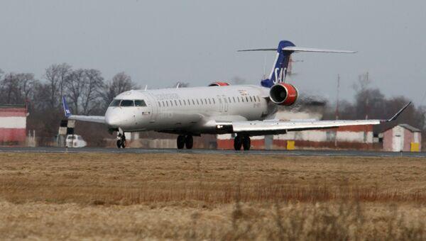 Самолет авиакомпании SAS. Архивное фото