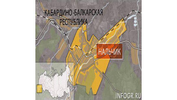 Режим КТО введен на части территории Нальчика