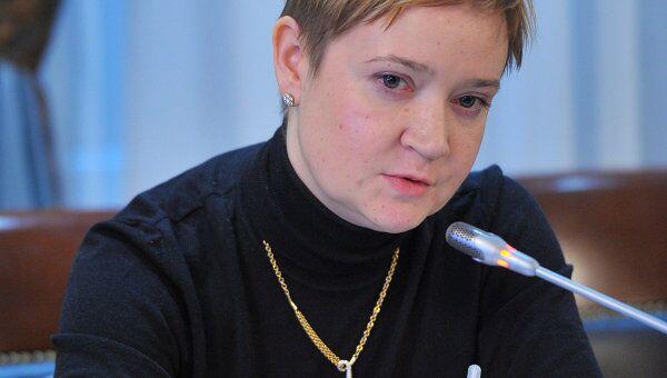 Заседание Общественной палаты на тему. Ольга Костина. Архивное фото