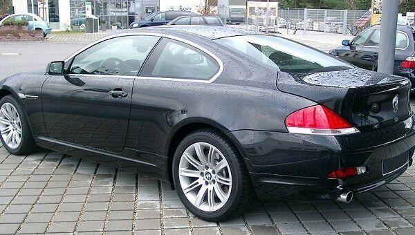 Автомобиль BMW E63. Архивное фото
