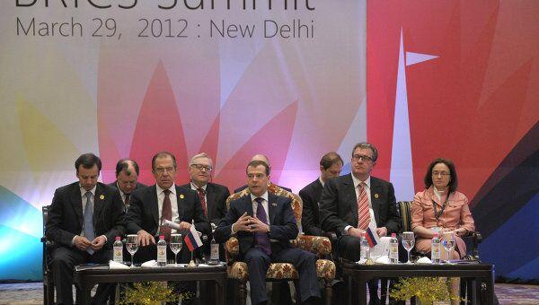 Медведев: БРИКС считает неприемлемым вмешательство в ситуацию в Сирии