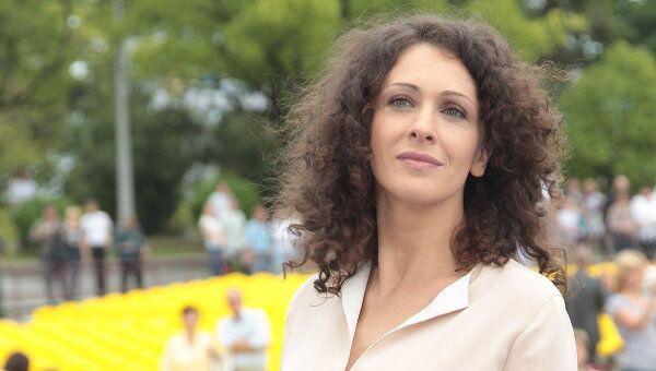 Актриса Ксения Раппопорт, архивное фото