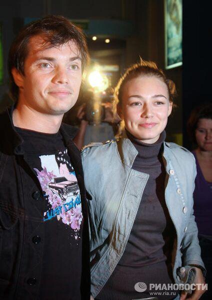 Оксана Акиньшина с супругом Дмитрием Литвиновым