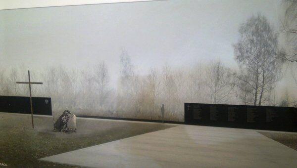 Проект-победитель памятника жертвам катастрофы Ту-154 под Смоленском