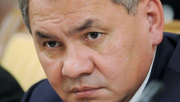 Кандидат на пост губернатора Московской области Сергей Шойгу