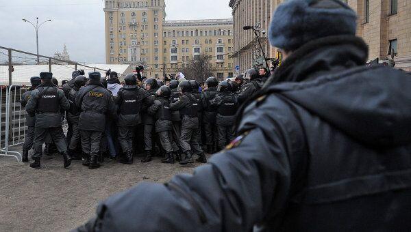 Акция Стратегия-31 в Москве