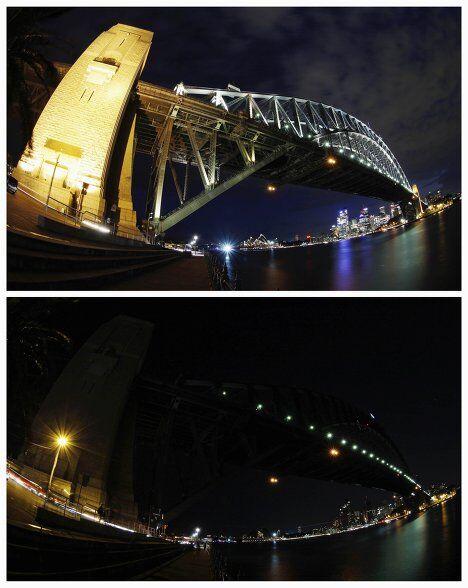 Акция Час Земли, Сидней, Австралия