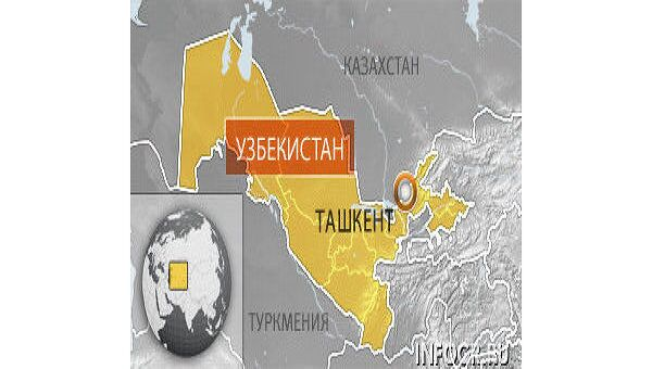 Ташкент. Карта