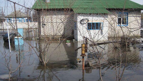 Паводок в Волгоградской области