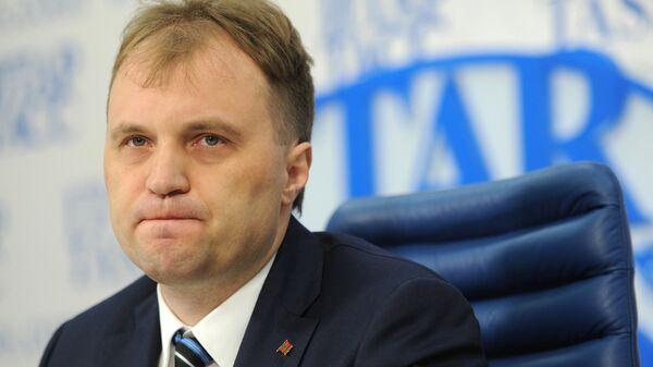 Экс-презилент Приднестровья Евгений Шевчук
