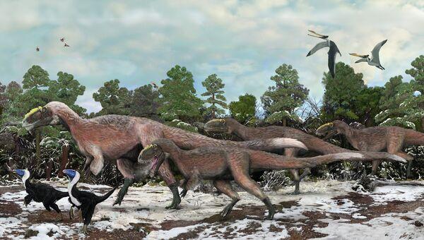 Ученые представляют тираннозавров сегодня примерно такими