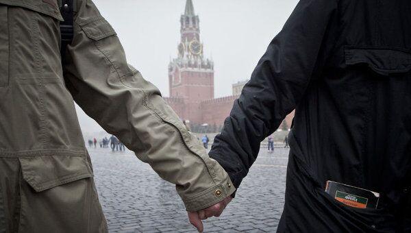 В Москве на Красной площади прошла песенная акция оппозиции.