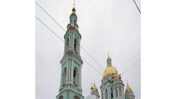 Здание Богоявленского (Елоховского) собора в Москве. Архив