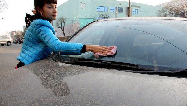 Последствия грязевого дождя в Приморье