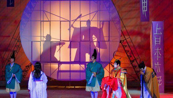 Сцена из спектакля Мадам Баттерфляй Астраханского театра оперы и балета