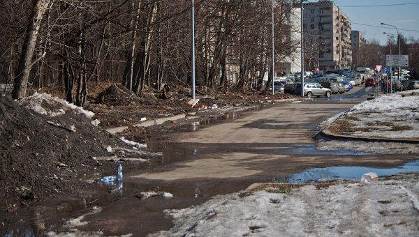 В Петербурге с наступлением весны сложилась катастрофическ