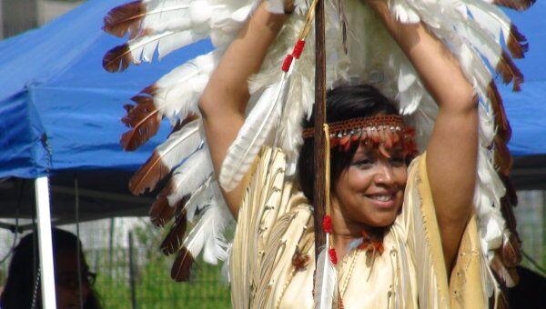 Индейцы, обитающие на севере США. Архив
