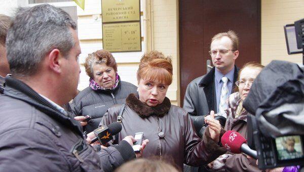 Уполномоченный Верховной рады по правам человека Нина Карпачева
