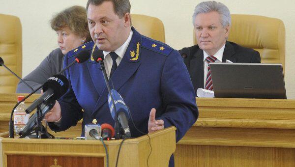 Прокурор Астраханской области Олег Дупак. Архивное фото