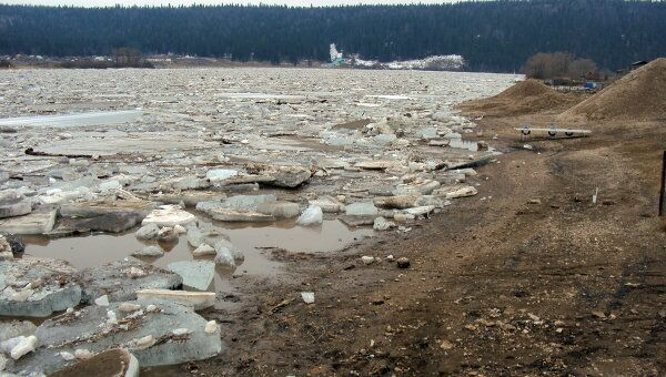 Паводок и ледовый затор