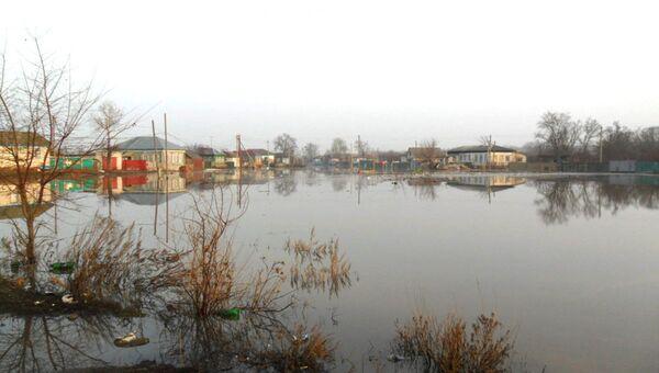 Паводок в Волгоградской области. Архивное фото