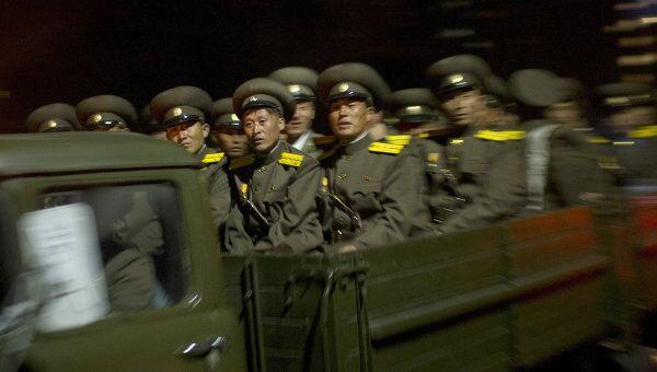 Военнослужащие КНДР. Архивное фото