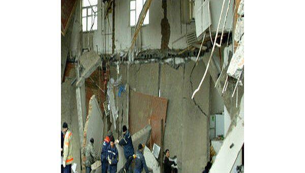 Обрушение здания. Архив