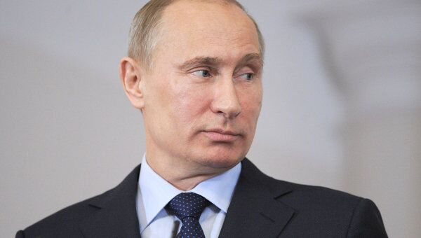 Председатель правительства РФ, избранный президент РФ Владимир Путин. Архив
