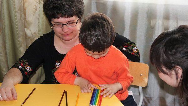 Дети-аутисты. Архив