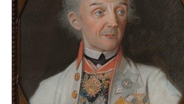 Иоганн Генрих Шмидт, Портрет Александра Суворова. Архивное фото