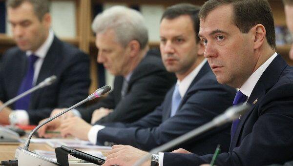 Президент РФ Д.Медведев посетил лицей в Санкт-Петербурге