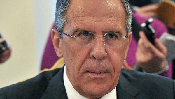 Министр иностранных дел России Сергей Лавров. Архив
