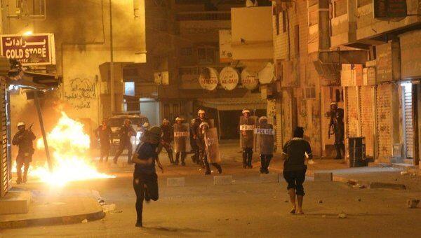 Акции протеста в Бахрейне. Архивное фото