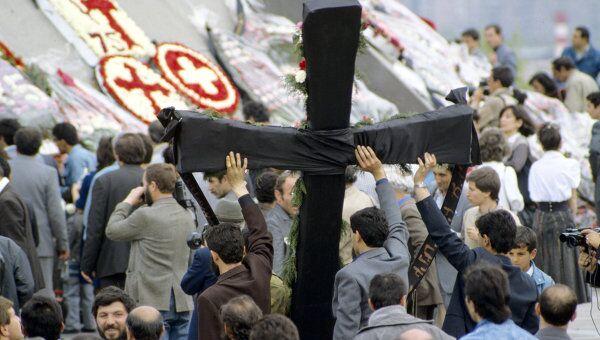 Народное шествие в День памяти жертв геноцида