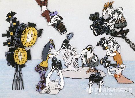 Кадр из мультфильма Остров