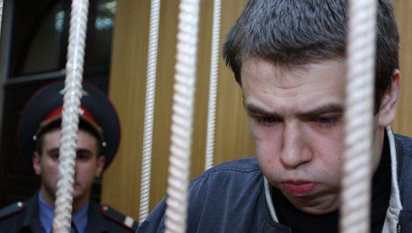 На скамье подсудимых в Тверском суде - московский студент Иван Белоусов. Архивное фото