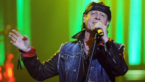 Солист группы Scorpions Клаус Майне, архивное фото