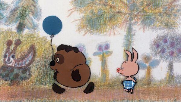 Кадр из мультфильма Винни-Пух