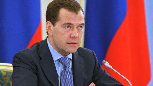 Премьер-министр России Дмитрий Медведев. Архив