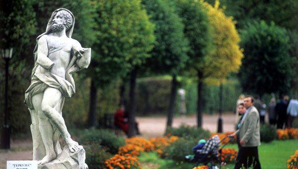 Парк усадьба Кусково. Архивное фото