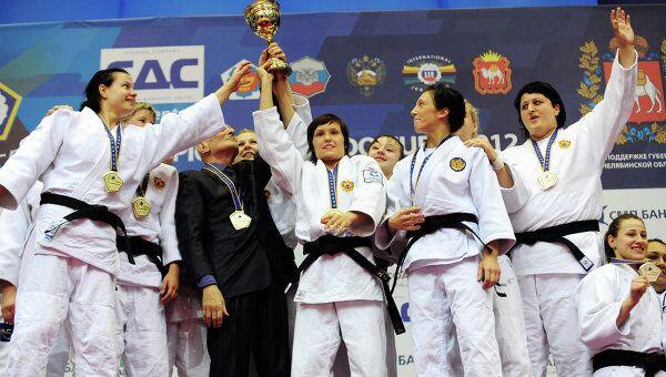 Сортсменки женской сборной России
