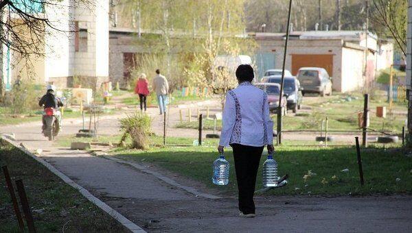 Костромичи скупают бутилированную воду